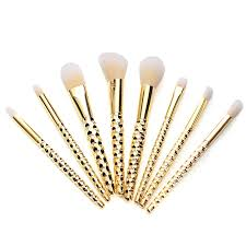 8pcs set rose golden kit makeup brush cosmetic tool makeup lipstick brushes eyeshadow set makeup