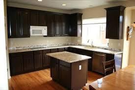 Painted Glazed Kitchen Cabinets Lenox Mocha Glaze Kitchen Cabinets With Ebony Painted Subscribed