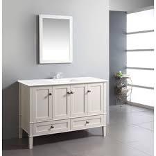 White Bathroom Vanity 48 Inch by 25 Best Bathroom Vanities Images On Pinterest Bathroom Ideas