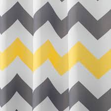 Gray And Yellow Chevron Shower Curtain by Amazon Com Interdesign Chevron Shower Curtain 72 X 72 Inch Gray