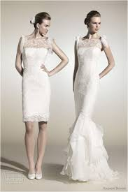 convertible mermaid wedding dress top 19 convertible mermaid wedding dress with detachable skirt