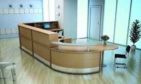 curved 1200mm reception desk with shelf avalon online reality