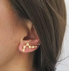 constellation earrings big dipper earring single ear crawler ear crawler big