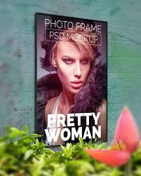 design templates photography free photo frame mockups free download psd wall poster mockup mockups pinterest