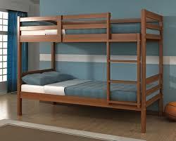 Solid Oak Bunk Bed Nathaniel Espresso Wooden Bunk Bed Solid Wood Bunk Beds