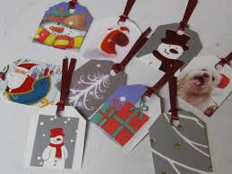 festival of lights lake jackson recycled gift tags from old christmas cards i made that
