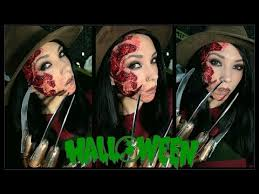 Krueger Halloween Costume Freddy Krueger Halloween Makeup
