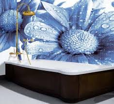 3d Bathroom Design Colors Mosaic Tiles And Modern Wall Tile Designs In Patchwork Fabric Style