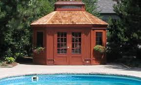 Pool Houses by Pool Houses Edgestone Landscaping U0026 Construction Inc York