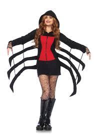 leg avenue 85558 cozy black widow spider costume dress up