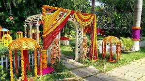 know about few quirky non traditional indian wedding decoration ideas