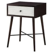 mid century modern accent table room essentials mid century modern accent table in white