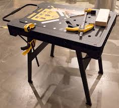 Keter Folding Work Table Bench Mate With 2 Clamps Hereu0027s The Second Design From Itu0027s A Free Standing Pvc
