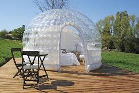chambres bulles chambre bulle une nuit insolite en isère domaine de suzel