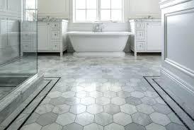 Marble Mosaic Floor Tile Mosaic Floor Tile Bathroom Bathrooms Floor Hexagon Tiles Hex Tile