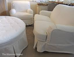 Slipcover Chair And Ottoman Chair Slipcovers The Slipcover Maker