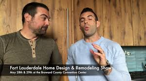 meet the cousins of hgtv at the fort lauderdale home show youtube