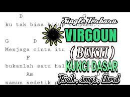 tutorial gitar lagu virgoun bukti chord dasar virgoun bukti cover lirik dan kunci gitar youtube