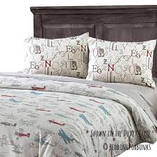 Bunk Bed Comforter Jacob Vintage Airplane Fitted Bunk Bed Comforter Bedding For Bunks
