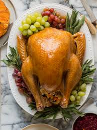 daring picture of a thanksgiving turkey citrus and herb roasted