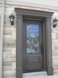 Modern Door Trim Exterior Front Door Trim Ideas Doors This Door Also Has A Vinyl