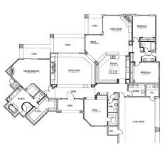 Split Floor Plan by One Hundred Hills By Toll Brothers Models Mcdowell Mountain Area