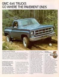Old Ford Truck Brochures - car brochures 1977 chevrolet and gmc truck brochures 1977 gmc