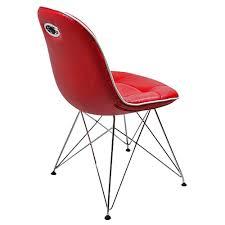 Esszimmer Sessel Kaufen Designer Stuhl Anja 2 Stück Kunstleder Rot Stühle Online Günstig