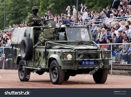 military police jeep belgradejune 12celebration 200 years serbian policeserbian stock