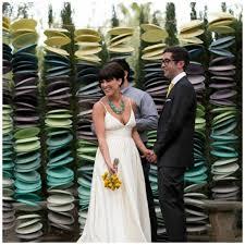 wedding backdrop garland splash your wedding ceremony with color inspirational wedding