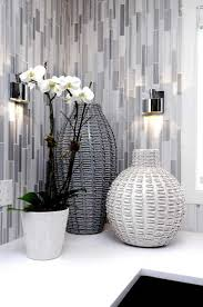 bathroom contemporary bathroom decor ideas with wricker i do have this thing about grey i love the wicker and the tiles