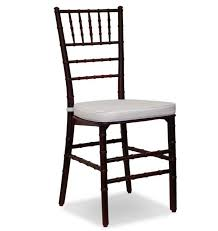 chairs for rental mahogany chiavari chair for rent in miami broward palm