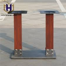 wrought iron pedestal table base unique square metal dining table leg furniture feet wrought iron