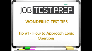wonderlic test tips tip 1 how to approach logic questions