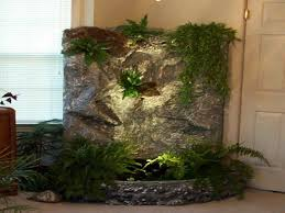 33 indoor fountains and ponds evening waterfall and pond