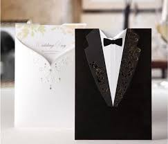 Groom And Groom Wedding Card 2016 Cheap Personalized Groom And Bride Wedding Invitation Card