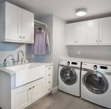 Pinterest Laundry Room Cabinets - laundry room sink ideas farmhouse sink white cabinets drying rack