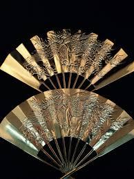 Oriental Wall Fans by Oriental Fans Solid Brass Dragon Design Wall Hangings Set Of
