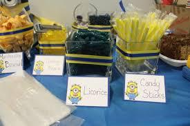 Minions Candy Buffet by Minion Theme Birthday Party Idea Oh Poppycock Life