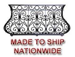 custom iron balcony fabricator raleigh wrought iron co