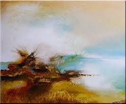 Abstract Landscape Painting by Original Abstract Landscape Painting Sold By Nataera From Sold