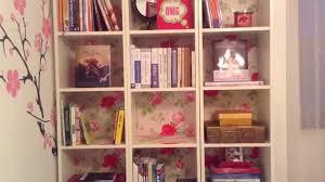 diy bookshelf revamp youtube