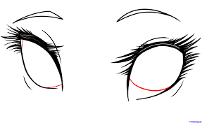 how to draw manga eyes step by step for beginners drawing art