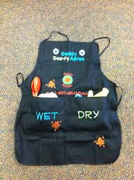 daddy dooty apron just in time for father u0027s day or baby shower