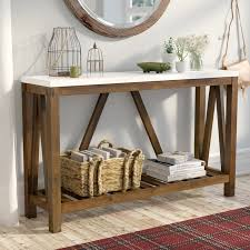 Entry Console Table Gracie Oaks Entry Console Table Reviews Wayfair Ca