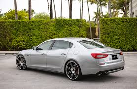 stanced maserati maserati quattroporte exclusive motoring miami fl exclusive