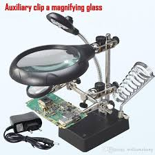 10x magnifying glass with led light best repair magnifier led light tools 2 5x 7 5x 10x magnification