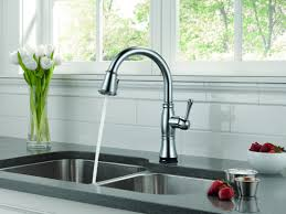 brass pull down kitchen faucet brushed nickel finish retractable