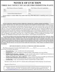 printable eviction notice forms