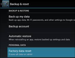 reset android how to reset and factory reset on infinix note or any